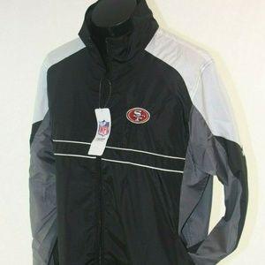 San Francisco 49ers NFL Apparel Jacket Windbreaker